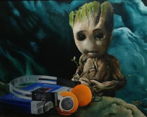 Music Time Baby Groot