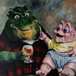 After a hard day at work, Earl comes home to mischievous baby and a beer to relax his nerves.