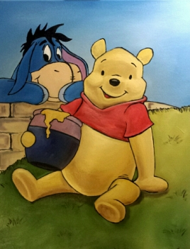 Pooh and Eeyore