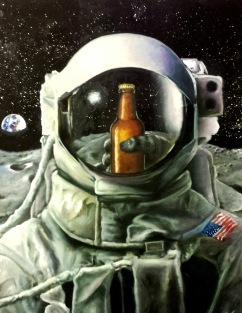 Beer ON The Moon