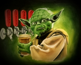 May The Pour Be With You
